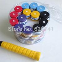 Membrane hole-digging badminton racket overwraps sweat absorbing belt slip-resistant belt neon green overwraps