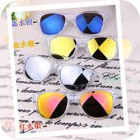 Free Shipping 6 Colors New Designer Reflective Anti-Reflective Polarized Lenses Sunglasses Men Oculos Women Glasses/Sunglass-16