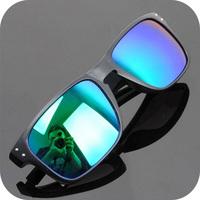 Free Shipping 12 Colors New Designer Reflective Anti-Reflective Polarized Lenses Sunglasses Men Oculos Women Glasses/Sunglass-15