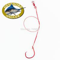 Offshore Angler Circle Hook Leader Rig 9''/22.86cm,1/0 3/0 fishing hooks,10packs/lot,Free shipping