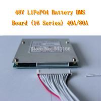 48V LiFePO4 Battery BMS Board (16 Series) 40A/80A