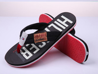 free shipping 2 colors size 39-45 new trend brand large sizes men fashion slippers rubber sole casual men flip flops MS14008