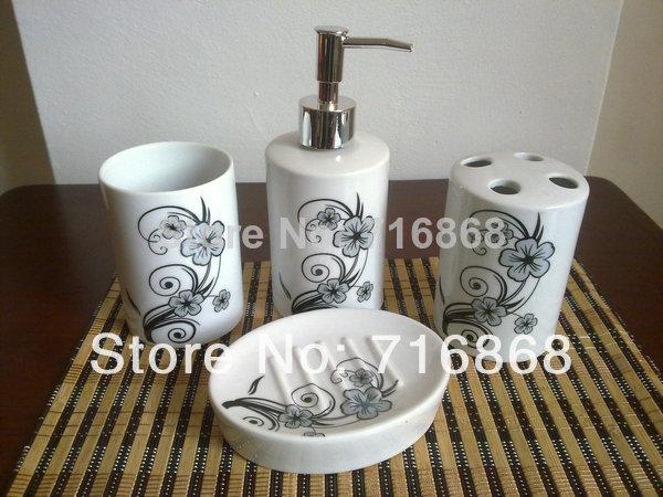 Blanc classique c1040 black salle de bains accessoires de - Accessoire salle de bain blanc ...