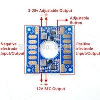 5V 12V Adjustable Voltage Dual BEC Output Board ESC Distribution Connection Board FPV