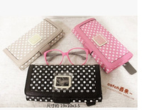 2014 New G Bags Fashion Practical Wallet Three color optional Free shipping