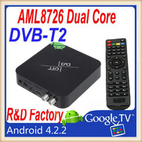 android dvb-t2 XBMC Amlogic 8726 MX Dual Core 1080p android 4.2.2 Smart TV Box Factory Supply