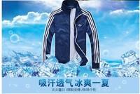 Spring 2014 men's windbreaker men's casual sports jacket zipper cardigan jacket men's sportswear thin coat