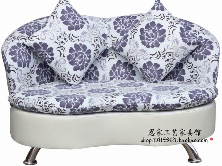 fabric sofa your best choice for home office or your shop(China (Mainland))