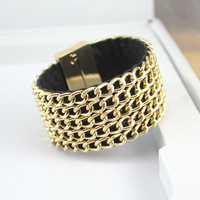 HOT SELL, high-end fashion bracelet, magnetic clasp, Link chain bracelets, ladies summer with accessories free shopping