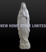 natural white marble hand carving religious statues sculpture