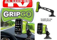 Free Shipping Gripgo mobile phone holder as seen on TV Grip go car phone mount hand free holder Amercia standard quaity 100pcs