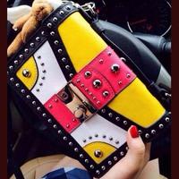 Hot 2014 New women bags Genuine leather Brand women handbag Top high Quality women Messenger bags