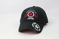 Star 1941 Black Cap Baseball Golf Ball Classic Sport Casual Embroidery Hat Cap (cap 29)