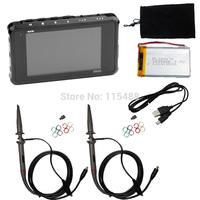 DS203 metal black minidso stm32 DIY kits 2 Analog Probe, 72Msps ,8Mb Flash, 2.72ver