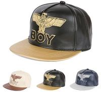2014 new Embroidery Eagle animal leather snapback caps baseball cap hip hop hats for men women M79