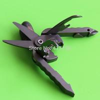 Novel mini gift, multifunctional Solstice scissors, W/screw drive,bottle&can opener,nylon pocket, free Shipping