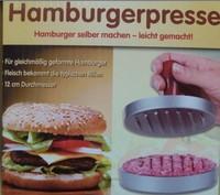 New Hamburger Press Meat Patty Mold Maker Metal Machine Grill Aluminum Tool Save