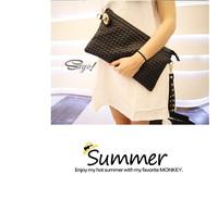 bag 2  American Fashion Summer Female Handbags Korean Models With Metal MINI Packet Wallet Phone Package