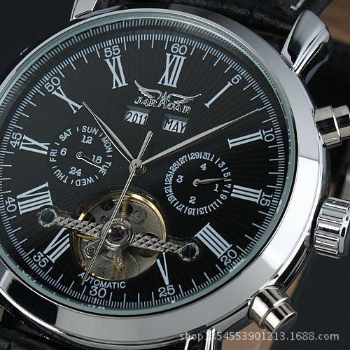 2014 internacional marca de ropa hombres reloj mecánico automático, hombres relojes militares, correa de caucho relojes(China (Mainland))