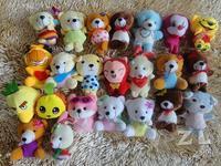freeshipping,teddy bear  ,fashional Toy, Plush Toy ,stuffed rag doll  style send randomly