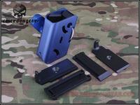 CNC Airsoft Aluminium IPSC 360 Degrees Rotate Magazine Pouch For Glock Hi-capa BD6278C BD6278 BD6278A BD6278B