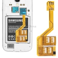 Multi SIM Card Adapter for Samsung Galaxy S 5/i9600, S 4/i9500, S 3/i9300, Note 3 / N9000, Note 2/N7100, Mega 6.3 / i9200