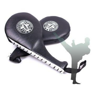 Горячая распродажа тхэквондо двойной удар Pad целевая таэквондо каратэ кикбоксинг обучение # 54503