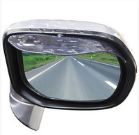 2014 new universal car rearview mirror arbitrarily curved rain gear waterproof rain gear to protect myself eyebrow in Russia