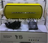 Free DHL!60pcs/lot high quality 2014 NEW arrival Y8 mini speaker bluetooth wireless speaker with FM radio support TF/USB slot