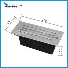 ( 20 unids/lote ) venta de la fábrica LED decorativas luz de la escalera Corner LED luz(China (Mainland))