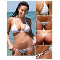 Cheap New Swimwears 2014 Fashion Women Bikinis set Good Quality sexy Fling thong bikini Swimsuit Bathing Suit Swimsuits 3 color