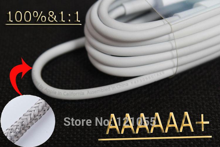 Vera 8 pin a cavo usb per iphone 5 5s 5c aria ipad 5 ios 8.0