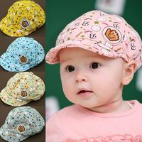 2014 Free shipping Baby hats children baseball cap 3-24 months