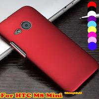 1pcs Flip Hard Case Back Cover Mobile Phone Case For HTC M8 Mini HTC One mini 2 Phone Cases Free Shipping