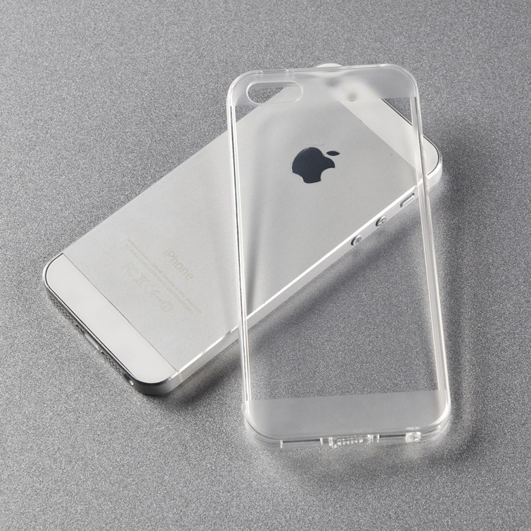2014 fasion transparent clear Soft cover for iPhone 5 case Mobile Phone Bags Silicon case For apple iphone 5s capa(China (Mainland))