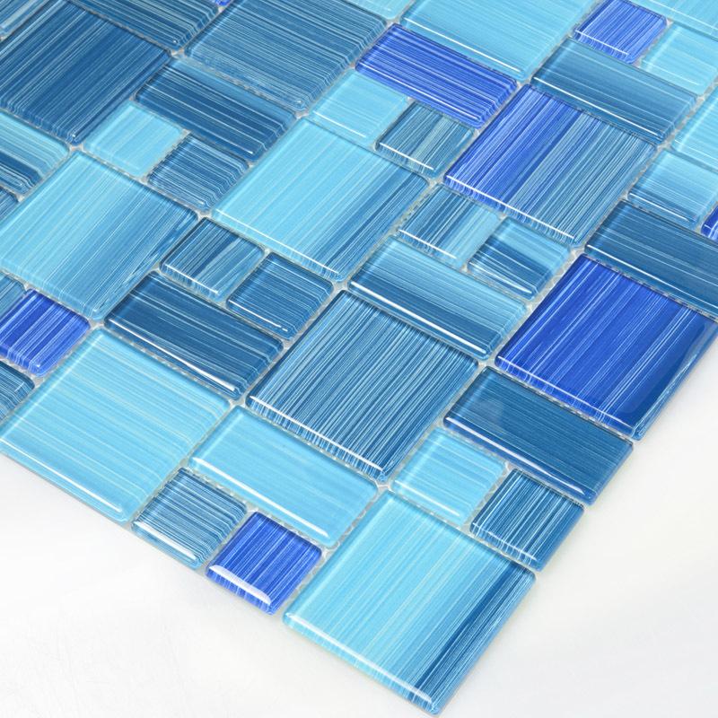 Piastrelle bagno blu mare [tibonia.net]