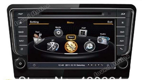 For VW Volkswagen Bora 2013 2014 Car DVD GPS Navigation Media Center Radio Audio Video Central Multimedia Autoradio Head Unit(China (Mainland))