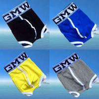 Free shipping!! 4pcs/lot High quality Men underwear Men Boxers cuecas boxer Mix Colors C-501