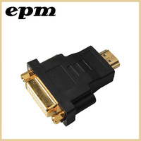 HDMI male To DVI 24+5 DVI-D Female Gold Plug Adapter Socket Converter For Converter Plug to connector LCD HD TV