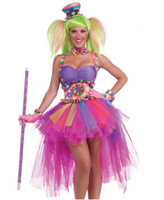 2014 Women's Sexy Tutu Lulu Magic Forum Circus Sweeties The Clown Costume,Angels Fancy Dress Costumes