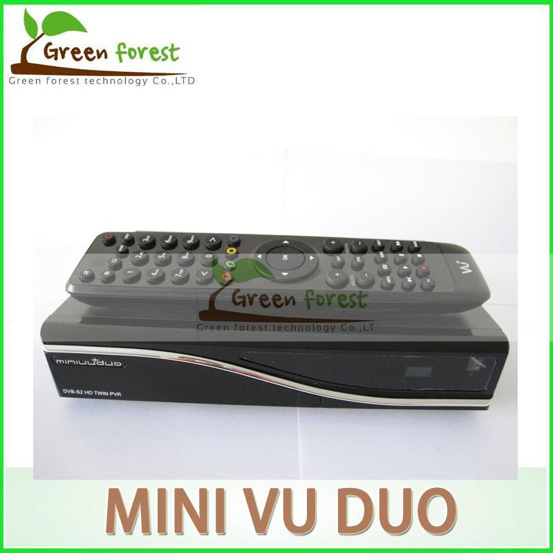 MINI VU DUO Twin Tuner HD Satellite Box Fully automatic Manual Channel Search Support Original Software vu duo mini(China (Mainland))