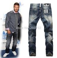 Free Shipping Disel new 2014 male classic blue designer jeans men jeans style brand jeans men,fashion men pants trousers 28-40