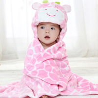 Winter Babies Robes Baby Bathing Suits Retail Infant Bathrobe 2014 New Flannel