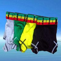Free shipping!! 4pcs/lot Fashion Men's underwear Men's Boxers cuecas boxer C-502
