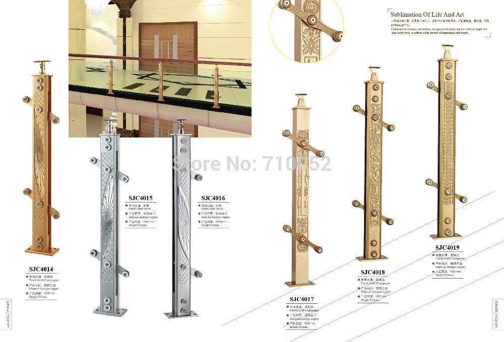 SJC4017 CustomizeAL-MG ALLOY stair armrest fence guardrail railing AL-MG ALLOY SERIES(China (Mainland))