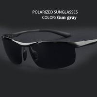 Free Shipping 2014 Summer Sports Men Polarized Glasses Aluminum Magnesium Alloy Polaroid Sunglasses Driving Oculos/Sunglass-29