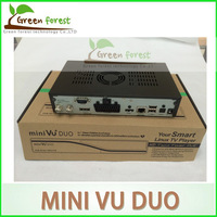 By DHL VU DUO Mini Twin DVB-S2 Tuner Open-source Linux operating system mini vu duo Satellite Receiver