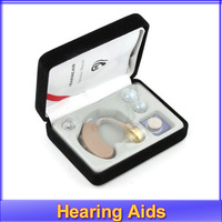 Free shipping!! Best ear Sound Amplifier Volume Adjustable Tone Hear Hearing Aids Aid JH117 NEW