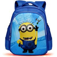 2014 Hot Cartoon Schoolbag for Boy or Girl Cartoon Despicable Me school bag Primary Scholar satchel High quality school backpack