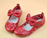 girls child sandals 2014 genuine leather girls shoes princess shoes full leather hole shoes